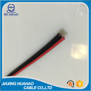 CCA Conductor PVC Insulated Red/Black Speaker Cable/Parallel Twin-Flat Cable pictures & photos