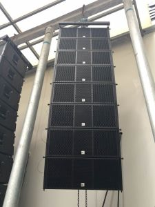 Professional Digital Audio Line Array System Dual 10 Inch Active Line Array pictures & photos