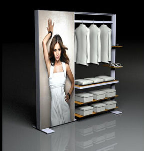 Popular Fabric Lightbox Exhibition Display Stand (GC-FDS) pictures & photos