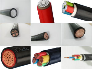 0.6/1kv Copper Conductor PVC Insulation Power Cable pictures & photos