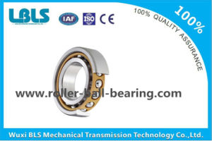 Three Point Contact Nylon Cage Single Row Bearing Steel Angular Contact Ball Bearing pictures & photos