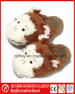 Hot Sale Cute Winter Slipper Warmer of Monkey Toy pictures & photos