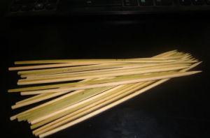 Food Grade Bamboo Loop Skewer/Sticks pictures & photos