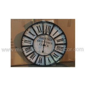 Home Decoration Cutomized Logo Wooden Wall Clock pictures & photos