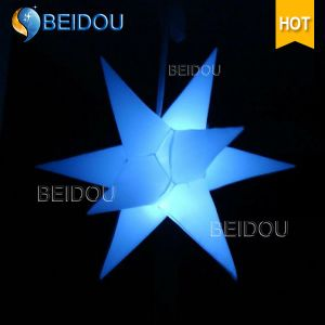 Event Stage Wedding Party Christmas LED Lighted Inflatable Decoration Star pictures & photos