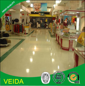 Decorative Material PVC Vinyl Flooring in Shop