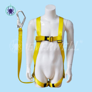 Full Body Harness, Safety Harness, Seat Belt, Safety Belt, Webbing with One-Point Fixed Mode and Three Adjustment Points (EW0110H)