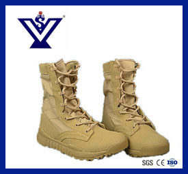 New Design Genuine Cow Leather Military and Police Tactical Boots (SY-0066) pictures & photos