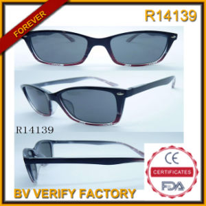 Dropshipping Wholesale Clear Plastic Mens Eyeglass (R14139) pictures & photos