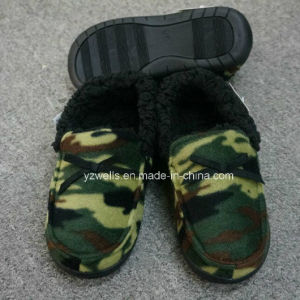 Camo Fabric Slippers for Men/Footwear/Indoor Shoes