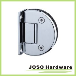 Wall to Glass 90 Degree Semicircle Shower Hinge (Bh7001) pictures & photos