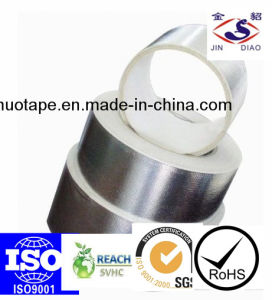 Synthetic Rubber Adhesive Aluminum Foil Tape pictures & photos