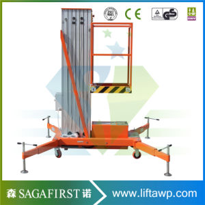 10m Electric Lift Mobile Hydraulic Man Lift with Ce pictures & photos