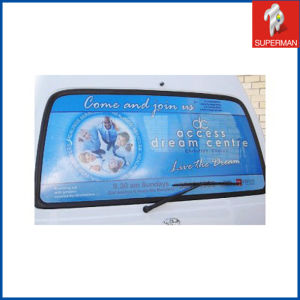 Customized One Way Vision Glass Sticker Printing