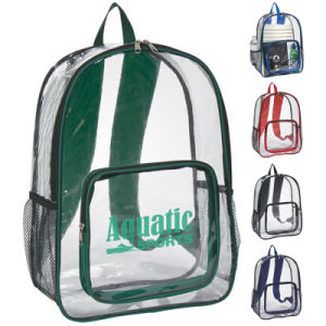 Clear Transparent PVC Back Pack Backpack Bag pictures & photos