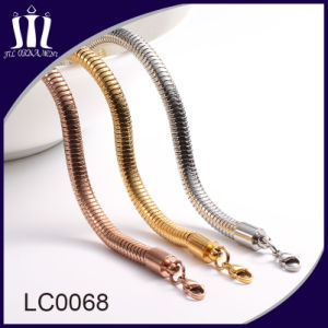 Fashion Jewelry Round Snake Chain Necklace for Handbag pictures & photos