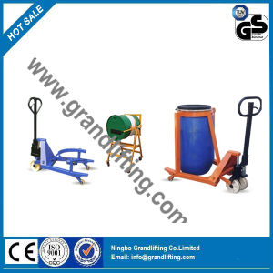 Hand Lift Trolley Hydraulic Drum Handing /Drum Lifting pictures & photos