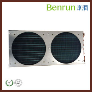 Copper Tube Fan Heat Exchanger Condenser with Hydrophilic Fin