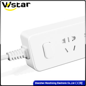 EU Plug 4 Way Switch Wall Socket 10A pictures & photos