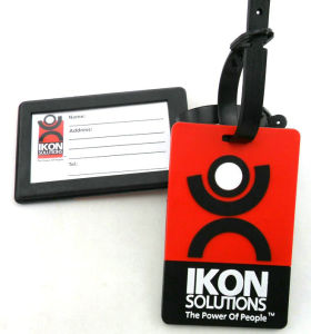 Customized Soft PVC Silicone Luggage Tag pictures & photos