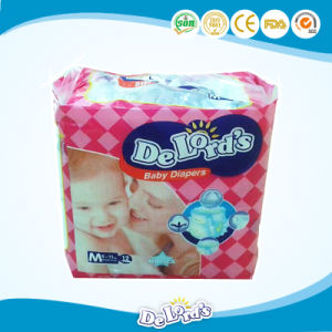 2017 Baby Products Magic Tape Cotton Backsheet Baby Diaper pictures & photos