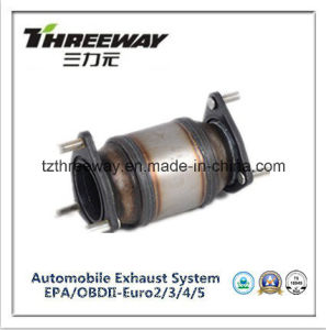Three Way Catalytic Converter Direct Fit for Spark 1.2 pictures & photos