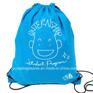 100%Cotton Drawstring Bag pictures & photos