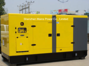 275kVA 220kw Standby Power Soundproof Cummins Diesel Generator pictures & photos
