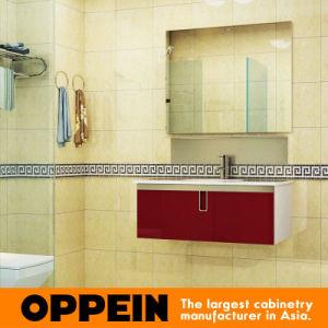 Oppein Simple Design Wooden Bathroom Vanity (OP15-202C) pictures & photos