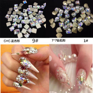 Clear White Ab Flat Back Crystals Non Hot Fix Flatback Glass Rhinestone, 1440PCS pictures & photos