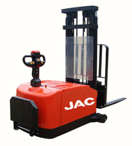Red Electric Stacker China JAC Brand New Stacker pictures & photos