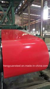 Red Color PE SMP Paint Z30-275 PPGI Prepainted Coils pictures & photos
