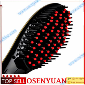 Ce FCC RoHS Hair Straightening Brush Heated Brush pictures & photos