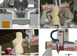 Ele-0508 Rotary Axis Wood CNC Router pictures & photos