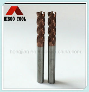 High Hardness HRC55 Copper Coated Corner Raduis Carbide Tool pictures & photos
