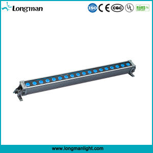 Outdoor RGBW 4in1 DMX 18*10W Light IP65 LED Wall Washer pictures & photos