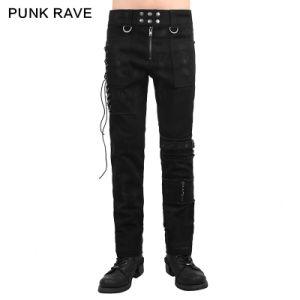 2015 Autumn New Design Punk Rave Black Man Pants (K-225) pictures & photos
