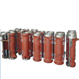 Die Casted Aluminum Locomotive Parts Intake Manifold pictures & photos
