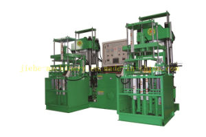 Two Stations Vacuum Pump Rubber Oil Seal Molding Machine Made in China pictures & photos