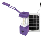 LED Camping Lantern with Solar Panel for Outdoor Lighting and Charging pictures & photos