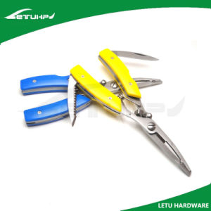 Long Nose Handle Fishing Pliers with Safety Lock