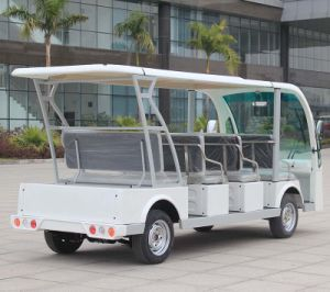 11 Seater Electric Shuttle Cart for Sale Dn-11 with Ce Certificate From China pictures & photos