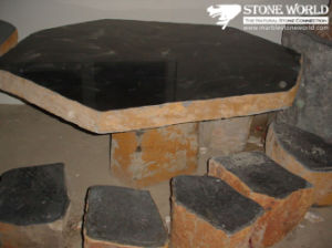 Natural Grey Granite Stone Lantern for Outside Garden (LAL11) pictures & photos
