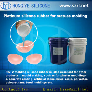 Life Casting Silicone Rubber for Fake Breats pictures & photos