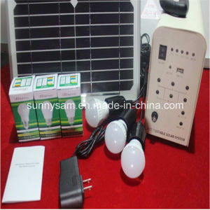 20W Home Solar Powered Lighting System pictures & photos