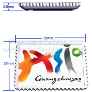 Mini Stamp Shaped UDP USB Flash Drive (S1A-8521C) pictures & photos