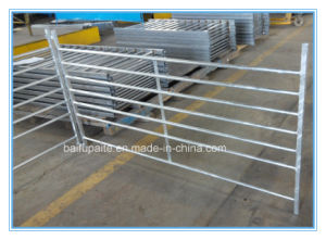 England Style Farm&Ranch Rail Fence--6 Bars Livestock Cattle/Bull/Cow Fence Panels (factory direct hot sales) pictures & photos