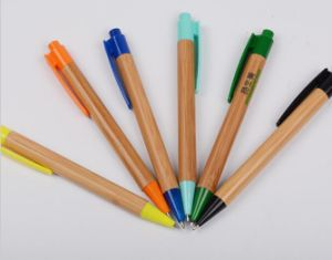Individualized Name Bamboo Pocket Pens pictures & photos
