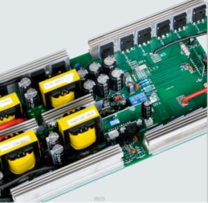 6000W 12V/24V/48V DC AC 110V/220V Modified Sine Wave Power Inverter pictures & photos