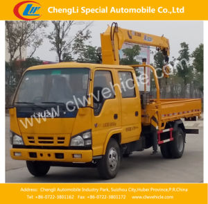 4X2 Isuzu Crane Truck Cargo Truck with Crane pictures & photos